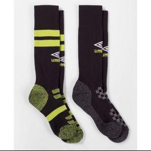 Umbro 2 Pack Soccer Socks Size 1 Peewee